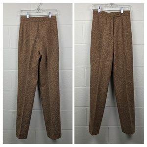 Vintage Tweed Trousers 100% Wool